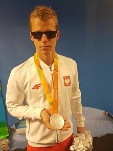 Kielecki pływak Wojciech Makowski ze srebrnym medalem!!!
