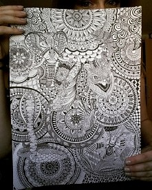 #mandala #zentangle