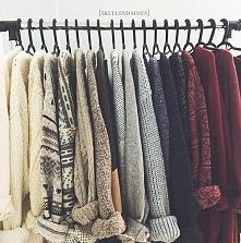 Mimo zimy i mrozu... sweterki królują :D