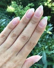 Naturalne paznokcie wyhodowane dzięki Protein Base (Indigo) :)) Zazdroszczę t...