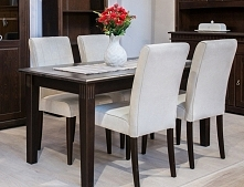 Elegancki sosnowy stół od M...