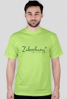 Koszulka dla męża z napisem: Zakochany* *w swojej żonie