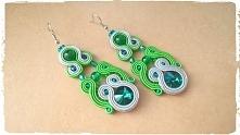 Zielony z szarym...super połączenie na każdą porę roku ;)