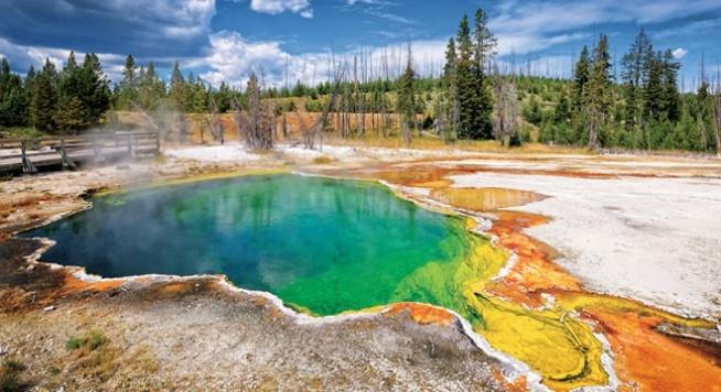 Park Narodowy Yellowstone w Stanach Zjednoczonych ❤