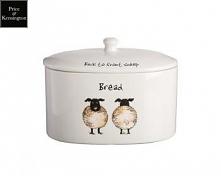 Chlebak ceramiczny z owcami...