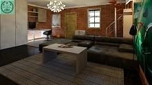 Projekt 40m² garażu metamorfoza wnętrza