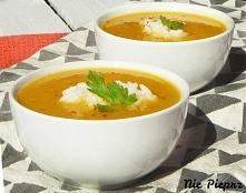 Przepis na pyszną, łatwą i zdrową zupę z dyni. Zupa sprawdzi się nie tylko w sezonie, ale przez cały rok.