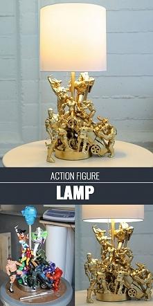 fikuśna lampa