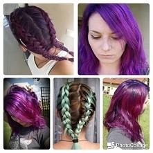 my hairstyle manic panic purple rain