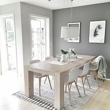 Jadalnia - krzesła, okna
