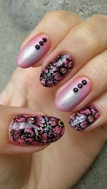 kwiaty i cyrkonie
