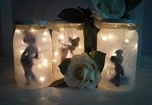 Kto pamięta słodkiego Dzwoneczka z Nibylandii?:) Kilka takich wróżek wpadło do moich słoików:)