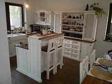 Piękna Kuchnia z Meblami Sosnowymi, www. rood-drew .pl