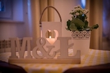 latarenki jako dekoracja weselna,