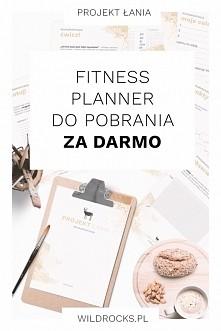 Pobierz darmowy fitness planner (aż 8 kart!). Planner do pobrania po kliknięciu w zdjęcie.