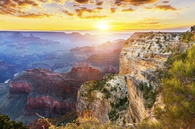 Wielki Kanion Kolorado w Stanach Zjednoczonych ❤❤