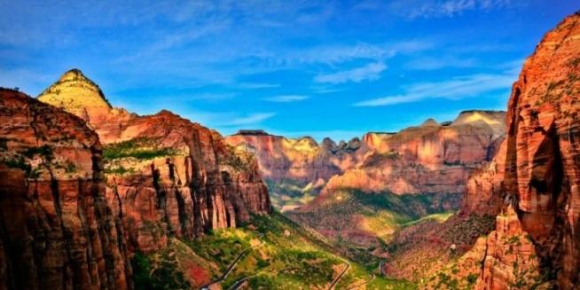 Park Narodowy Zion w Stanach Zjednoczonych ❤❤