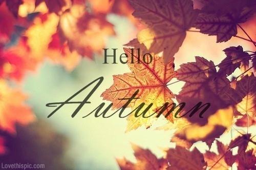 Koniec lata, witamy panią jesień! Choć średnio za nią przepadam to uwielbiam jej początki. A Wy? U mnie parę słów o planach na jesień. Jak Wy spędzicie swoją?:)