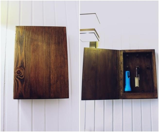 """Odwieczny problem: """"Gdzie są moje kluczyki?!"""" - rozwiązany!! Drewniana szafka na kluczyki i inne szpargały."""