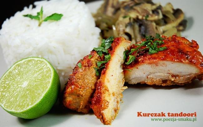 Kurczak tandoori z udek z kurczaka