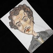 Juliusz Słowacki, wzorowane na portrecie