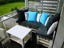 ławeczka na balkon