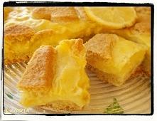 Ciasto cytrynowe z budyniem cytrynowym (po przepis kliknij na foto)