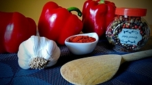 Domowy ajwar czyli pasta paprykowa - przepis