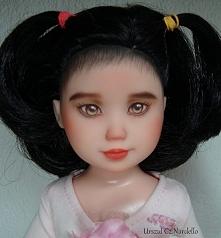 Asian doll repaint