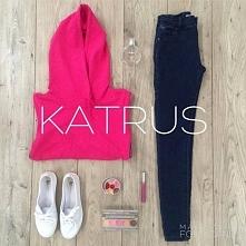Dziś proponujemy styl sportowy! W bluzach od Katrus lub ŁapNas.