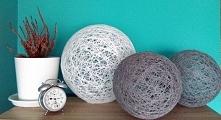 Moje cotton balls :) Małe, duże, wszystkie zachwycają prostotą i ocieplają nawet najsurowsze wnętrza :)