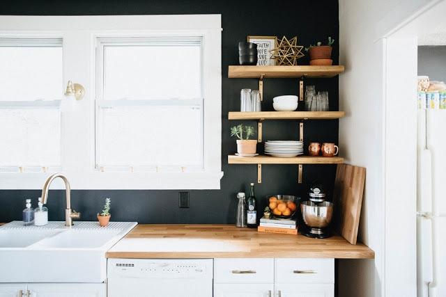 Jak Zaaranżować Otwarte Półki W Kuchni Na Mieszkanie