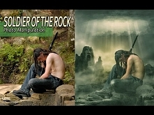 Fantasy Photo Effect Manipulation Tutorial Photoshop - Soldier Of The rock