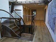 Drewniane schody, schody z ...