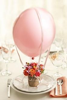 Dekoracja z balonem
