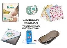 Wyprawka dla noworodka - lista najpotrzebniejszych artykułów higienicznych, kosmetyków i produktów aptecznych