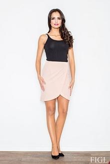 Piękna spódnica z zakładką. Idealna na spotkanie biznesowe.Spódnica jest bardzo wygodna i prezentuję się elegancko.