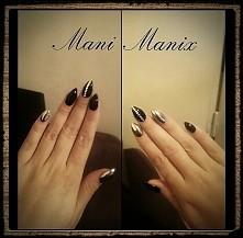 #paznokcie #nails #black #m...