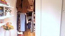 Garderoba własnoręcznie zro...