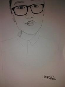 portret przyjaciółki w moim wykonaniu :)