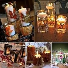 fajny pomysł na świecznik jesienny