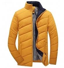 Musztardowa kurtka. Kolor jesieni. Bardzo modny. Klik w zdjęcie.