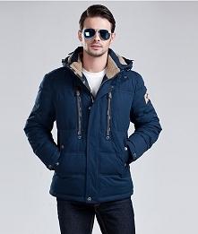 Męska kurtka na zimę. Bardzo ciepła i modna. Klik w zdjęcie.