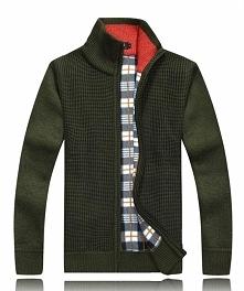 Męski ciepły sweter. Dostępny w wielu ciekawych kolorach. Klik w zdjęcie.