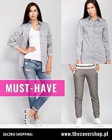 Luźny look jesienny. Co myślicie o takiej stylizacji na chłodniejsze dni?  My proponujemy spodnie dresowe i koszule.  Sprawdźcie nasze inne tablice, a na pewno dobierzecie coś d...