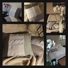 Piękne ręcznie robione, niepowtarzalne poduszki- super element dekoracji do wnętrz utrzymanych w kolorach szarości- Skandynawski styl! chętni...?;)