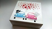 Pudełko; Prezent dla pary młodej