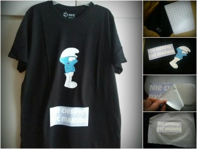 Prosty sposób na zrobienie koszulki z własnym napisem