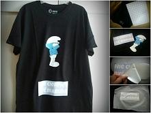 Prosty sposób na zrobienie koszulki z własnym napisem tanim kosztem! Potrzebne nam będzie papier transferowy (który można kupić od 5 złotych), drukarka, nożyczki,żelazko i koszu...