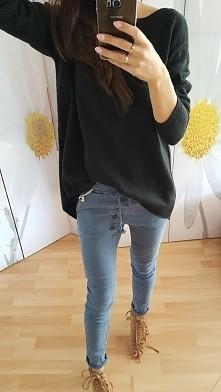 sweter one size cena 80 zl